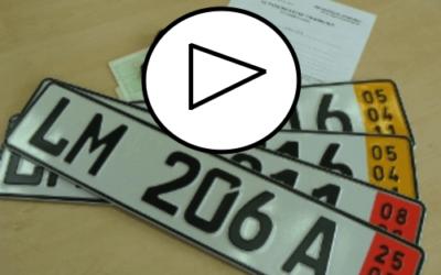 Targhe doganali e 93 co 1 Bis Codice della Strada – VIDEO
